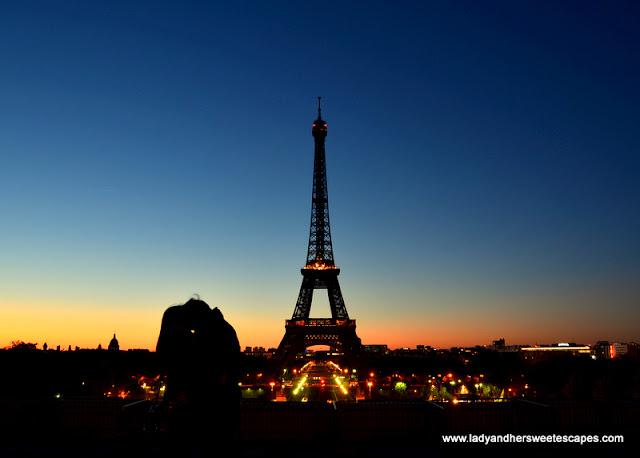 Trocadero in Paris