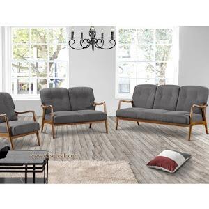 Set Kursi Sofa Tamu Antik 3 2 1 + Meja Seri Calisto