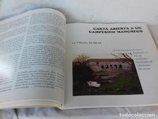 """""""Hablemos del Acuífero 23"""" (Mariano Velasco Lizcano; Consejería de Obras Públicas de la  J. C. Castilla-La Mancha; 2001)"""