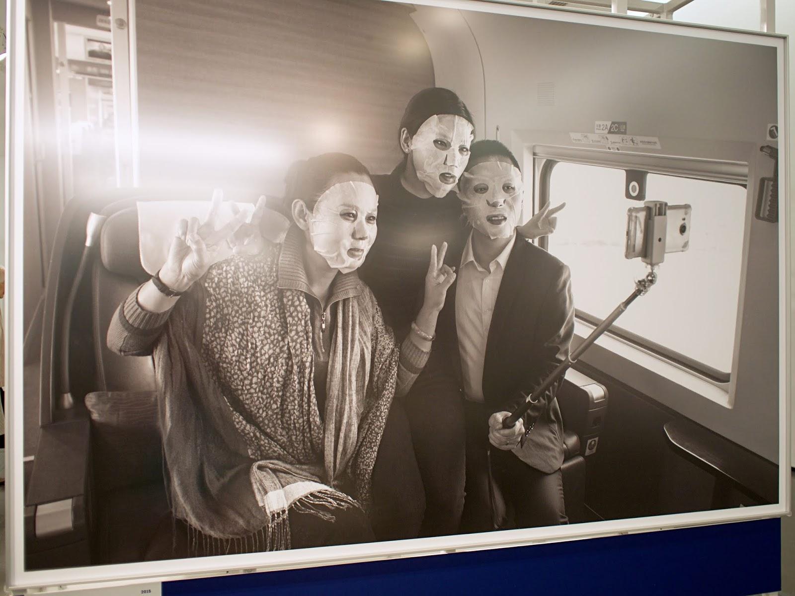 chinese rail passengers