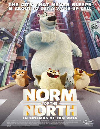 Norm of the North 2016 Hindi Dual Audio BluRay Full Movie Download