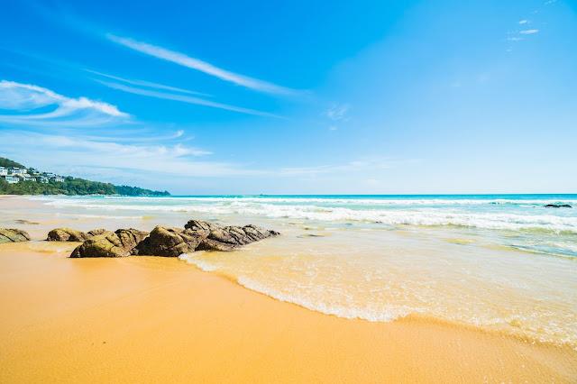 Wallpaper de paisagem da praia