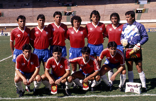 Formación de Chile ante Bolivia, Copa América 1989, 8 de julio