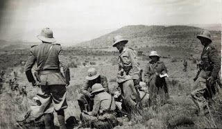 talian soldiers on the battlefield in Ethiopia after Mussolini sought to expand his empire in northern Africa