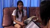คลิปไทยน้องนักศึกษาอยากเป็นดาราหนังโป๊เล่นหนังสดเย็ดกันของจริง