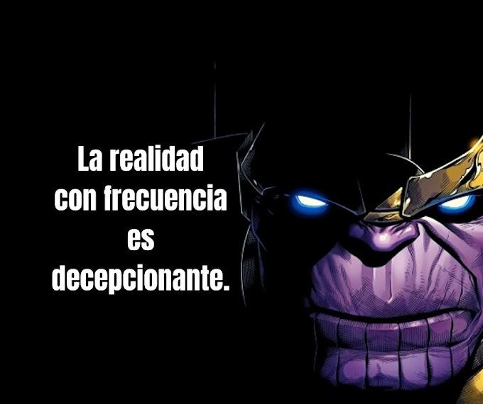 Las mejores Frases de Thanos