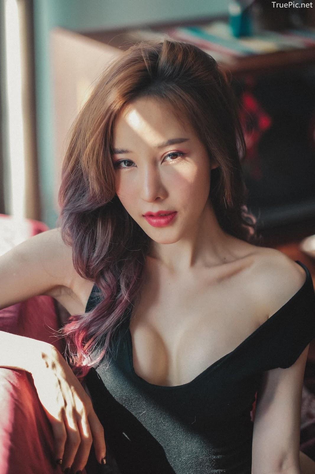 Thailand model - Arys Nam-in (Arysiacara) - Black Rose feeling the sun - Picture 6