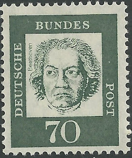 West Germany Ludwig Van Beethoven