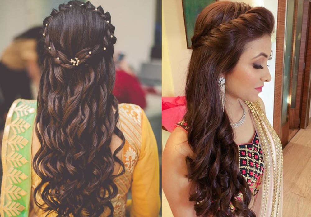 Get Easy Hair Styles for long hair and Look Beautiful