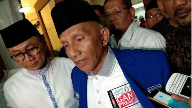 Kasus Hoax Ratna, Amien Rais Mangkir dari Pemeriksaan Polisi