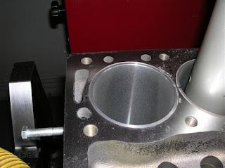 """Alesatura cilindri di canne a """"secco"""" riportate a pressione"""