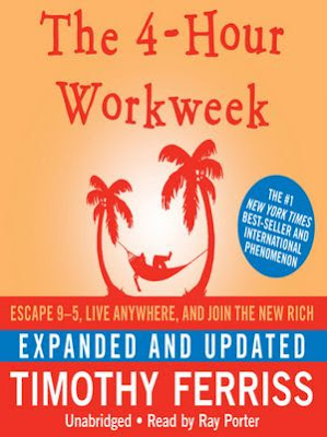 The 4-Hour Workweek by Timothy Ferriss - book cover