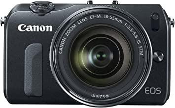 Canon EOS M DSLRファームウェアのダウンロード