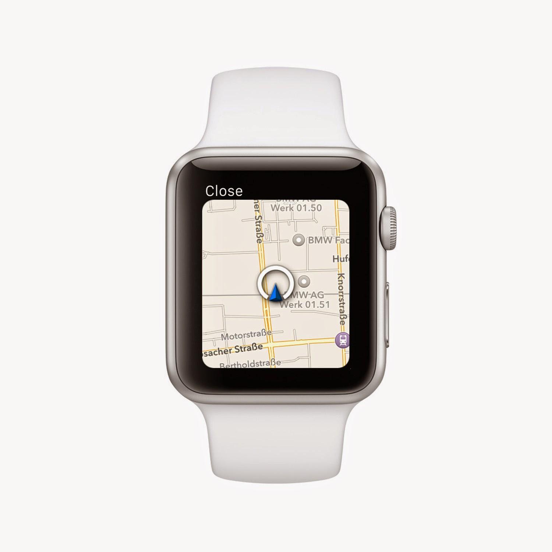 The Apple Watch BMW App
