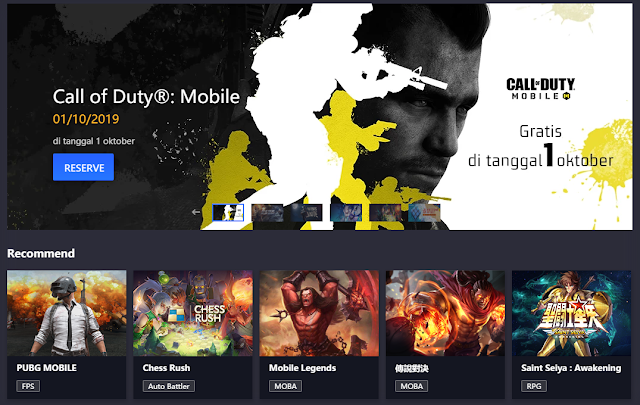 Call Of Duty Official Tencent Gaming Buddy Resmi di Rilis