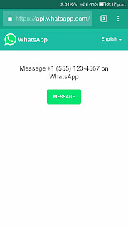 How to send whatsapp message to unsaved number hindi
