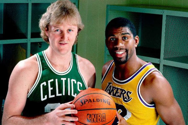 Larry Bird y Magic Johnson, grandes rivalidades deportivas de la historia