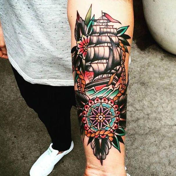 Hablemos Del Tatuaje Old School O Tradicional Americano