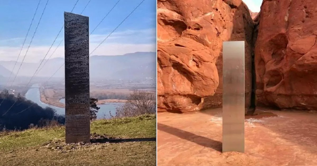 Huge Monolith Almost Identical To The One Found In Utah Is Discovered On A Romanian Hillside