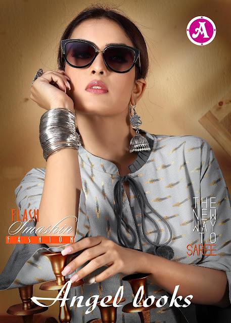 Ayush fashion Angel look Rayon Casual wear kurtis wholesale