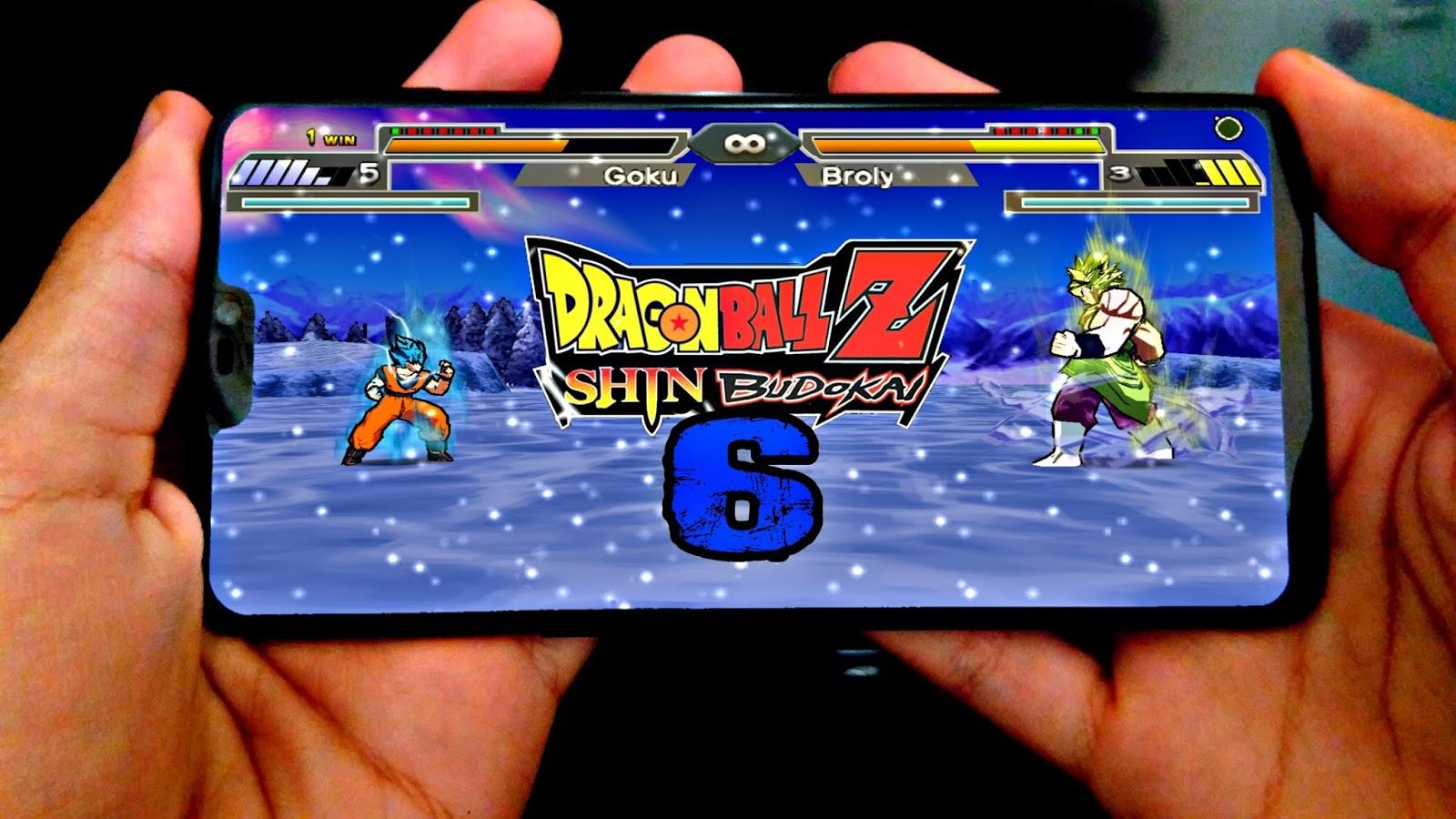 DRAGON BALL Z SHIN BUDOKAI 6 ATUALIZADO PARA CELULAR ANDROID/PPSSPP
