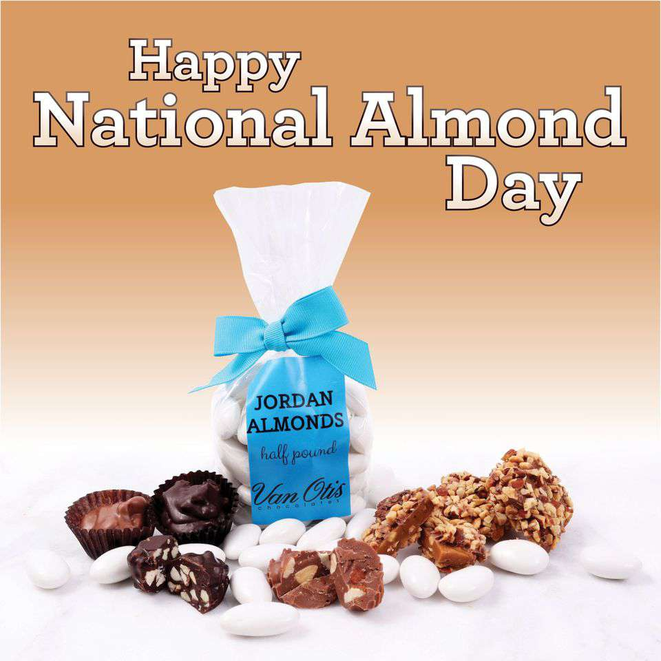 National Almond Day Wishes Images