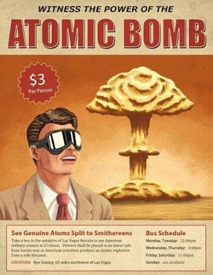 Witness the power of the atomic bomb