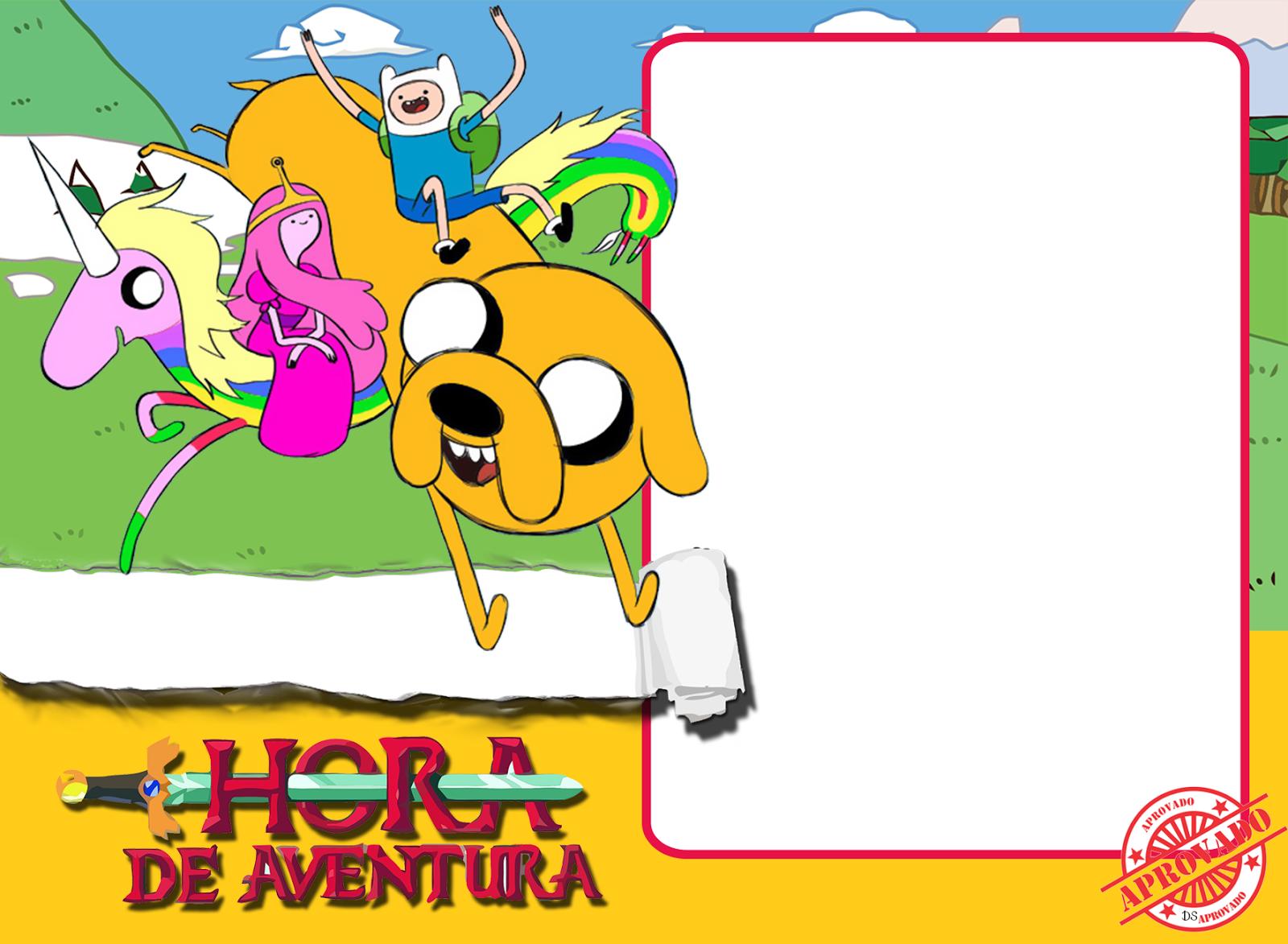 Adventure Time Invitation Card | PaperInvite