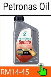 Gambar minyak pelincir petronas