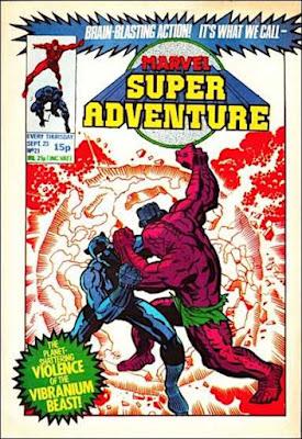 Marvel Super Adventure #21, Black Panther vs the Vibranium Beast