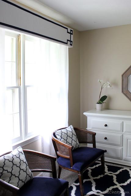 DIY Cornice Frame Kit review via DIYontheCheap.com