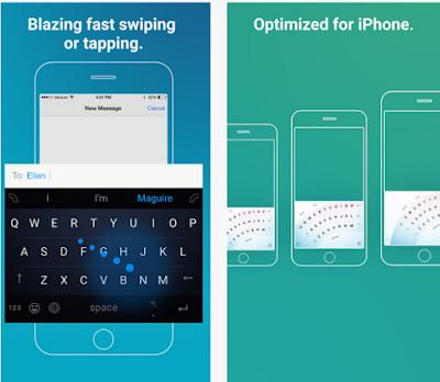 أفضل وأسرع لوحة مفاتيح للأيفون والأيباد iOS