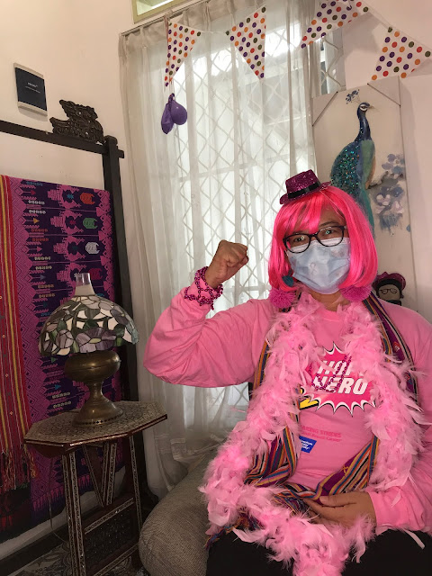 Let's kick breast cancer goodbye - breast cancer awareness month