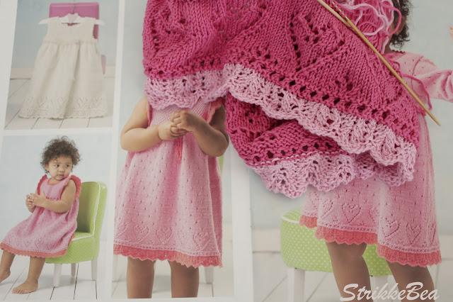 strikke kjole