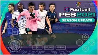 Download PES 2021 PPSSPP Best Graphics Chelito V3/V8.1 Update Real face 310+ & Full Latest transfer (February)
