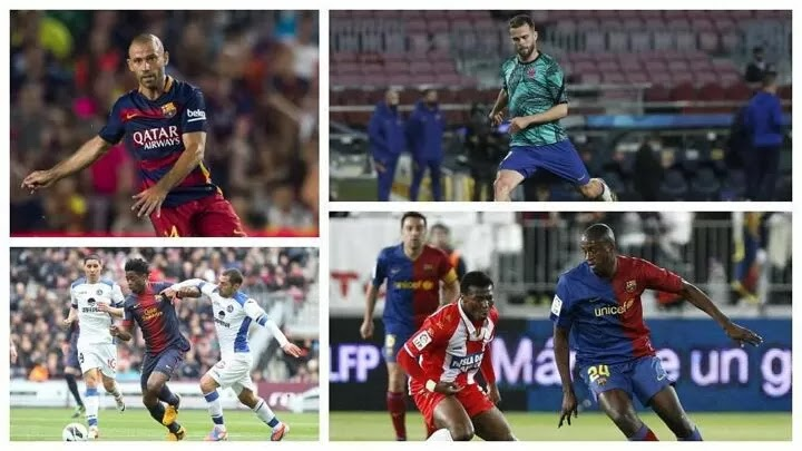 List of players Busquets has denied playing time in Barca midfield