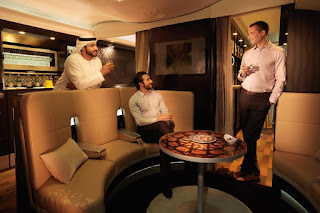 The Lobby de Etihad Airways