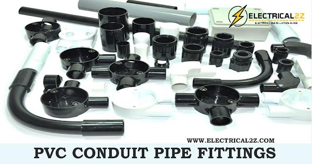 pvc conduit pipe fittings, pvc conduit fittings, conduit pipe fittings, box, saddle, circle, elbow, right angle @electrical2z