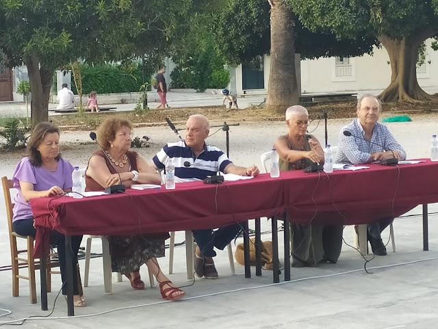 """Πραγματοποιήθηκε με επιτυχία στο Ναύπλιο η παρουσίαση του βιβλίου του Δ. Στρατούλη """"Όταν γεννιέσαι τρεις φορές"""""""