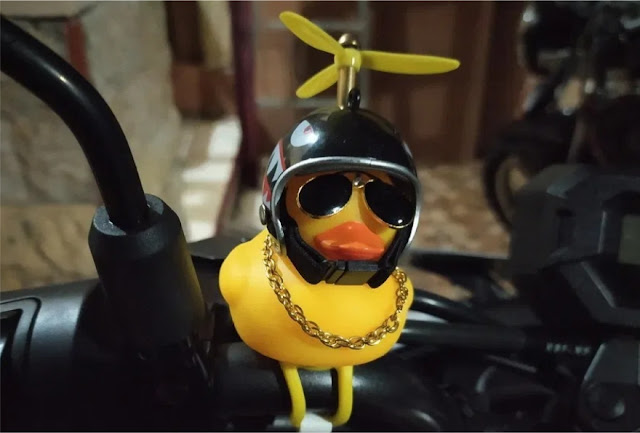 Cara Memasang Bebek Helm Baling-Baling di Sepeda Motor