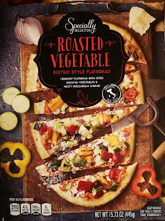 A stock image of the packaging to Specially Selected Roasted Vegetable Bistro Style Flatbread