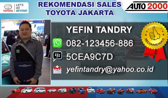Rekomendasi Sales Toyota Jakarta