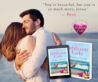 Virtual Tour w/Giveaway: Hearts at Seaside by Addison Cole
