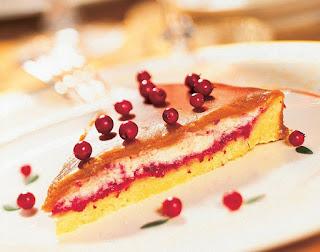 Karamelinis bruknių pyragas