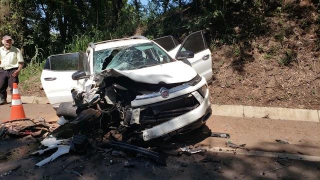 Tragédia próximo a Iretama, batida mata mulher e deixa feridos na PR-487