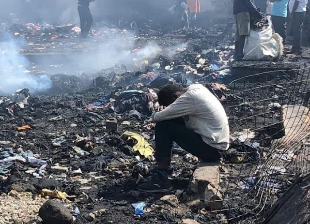 Gikomba market fire photos and videos recently