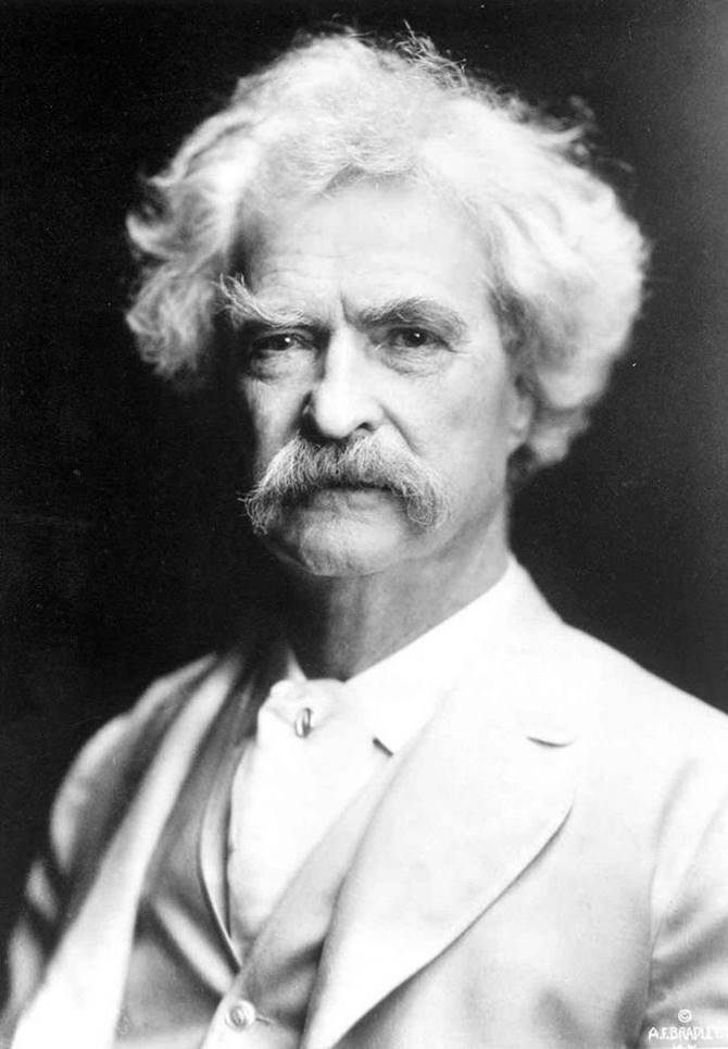 Mark Twain | Samuel Langhorne Clemens known by his pen name Mark Twain