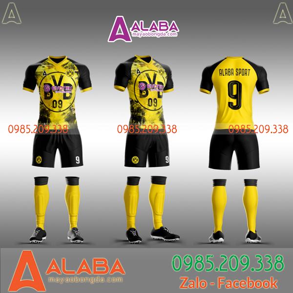 Áo câu lạc bộ Dortmund tự thiết kế độc đáo