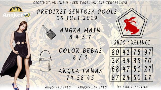 PREDIKSI SENTOSA POOLS 06 JULI 2019