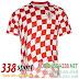 Áo Croatia Đỏ Trắng Sân Nhà 2016 2017
